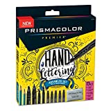 Prismacolor 2023754 Premier Advanced Hand Lettering Set with Illustration Markers, Art Markers,...