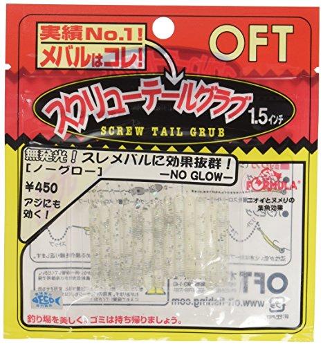 オフト(OFT) ルアー OFTオリジナル ノーグロースクリューテール グラブ 1.5インチ N7 341027