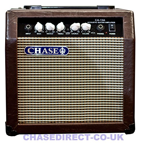 Chase CA-15A 15 Watt Acoustic Guitar Amplifier Practice Amp