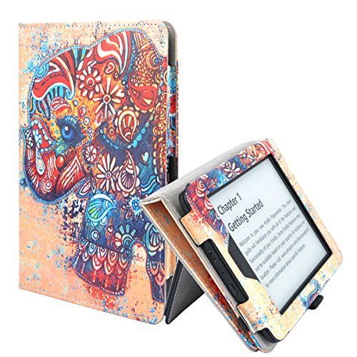 TsuiWah Case for Kindle Paperwhite - Vegan Leather [Hand...