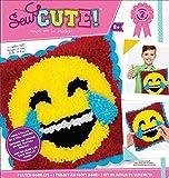 Colorbok Sew Cute Emoji Laugh Tears Latch Hook Kit, None