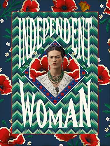 Grupo Erik Print Frida Kahlo Independent Woman, Multicolor, 30x40cm