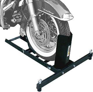 MaxxHaul 70271 Adjustable Motorcycle Wheel Chock Stand Heavy Duty 1800lb Weight Capacity
