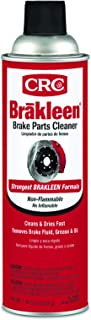 CRC BRAKLEEN Brake Parts Cleaner – Non-Flammable -19 Wt Oz (05089)