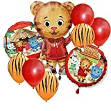 Daniel Tiger Jumbo Shape Party Balloon Set - 9 pc