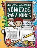 Aprender A Escribir Números Para Niños: Primeros Ejercicios De Escritura Para Aprender Los Números Del 0 Al 20