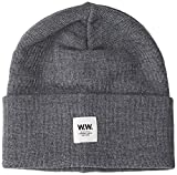 Wood Wood Gerald Tall Beanie Bonnet, Grau Grey Melange, Taille Unique Homme