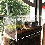 Likeitwell Bulary Reptile Breeding Box Acrylique Transparent Pet...