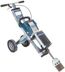 Makinex Jackhammer Trolley Universal Cart for use with Makita, Bosch, Dewalt, and Hitachi Breaker Hammers