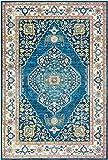 Artistic Weavers Aura Silk-2' x 3' Area Rug, Blue, Blue