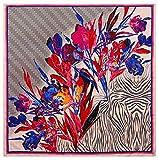 Bellette 130x130cm Pañuelo de Seda para Mujer,Pañuelos Bandanas,Cabeza Cuello Bufanda,Estolas y...