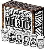 Mug Shots - 6 Piece Shot Glass Set...