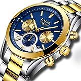 Mens Watches Top Brand Luxury LIGE Men's Fashion Business Quartz Watch Men Waterproof Full Steel Sport Watch Relogio Masculino 72