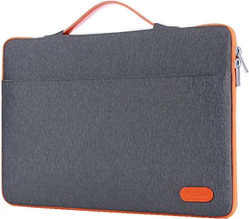 Procase 13-13.5 Inch Laptop Sleeve Case Bag for Surface Laptop Surface Book MacBook Pro, Protective Carrying Handbag Cover for 12' 13' Lenovo Dell Toshiba HP ASUS Acer Chromebook Notebook -Dark Gray