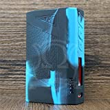 ModShield for Sigelei J150 150W TC Silicone Case ByJojo Skin Cover Sleeve J 150 J150W Wrap Shield (Blue/Black)