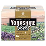 Yorkshire Gold is a high quality blend made from specially selected black teas from the ten finest tea gardens in Asam, Rwanda and Kenya. This tea produces a rich, golden liquor that is full of character and brightness with a brisk, refreshing charac...