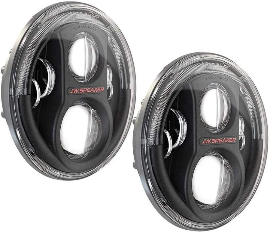 JW Speaker 8700 J2 Black Headlight