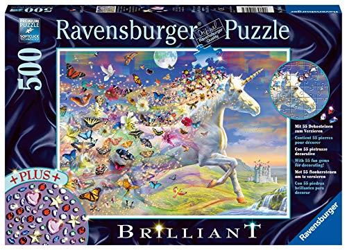 Ravensburger Puzzle - Unicorno e le sue Farfalle, 15046 5