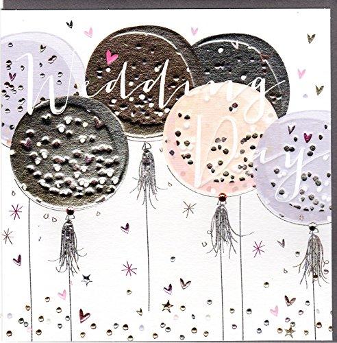 Belly Button Designs Paloma Hochzeitskarte mit Prägung und Kristallen BB419