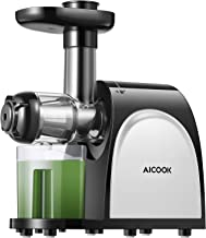 Juicer, Aicook Slow Masticating Juicer, Cold Press Juicer Machine Easy to Clean, Higher..