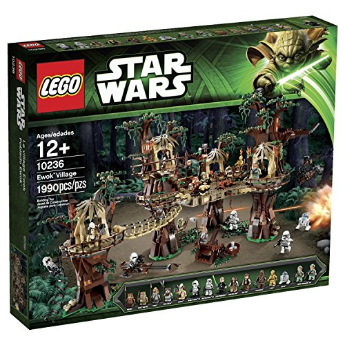 Star Wars Lego 10236 Ewok Village Set