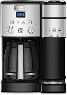 Cuisinart SS-15P1 Coffee Center 12-Cup Coffeemaker and Single-Serve Brewer, Silver
