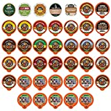 Decaf Flavored Coffee Variety Pack, Great Mix of Decaffeinated Coffee Pods Compatible with all Keurig K Cups Brewers, Huge 40 Pack