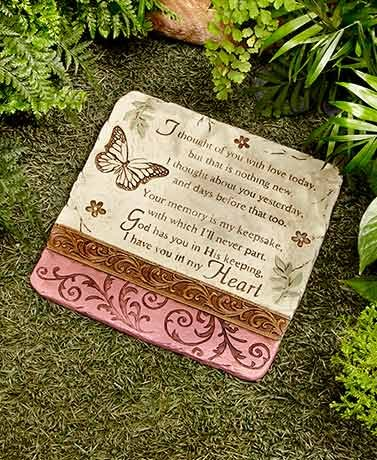 SB Goods I Thought of You Stone Decorative Memorial Stone for Your...