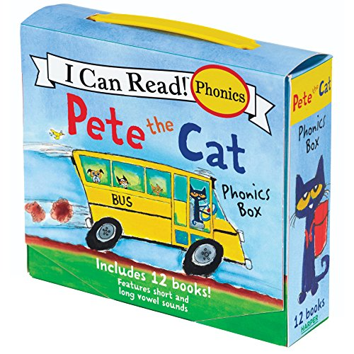 Pete the Cat 12-Book Phonics Fun!: Includes 12 Mini-Books...