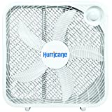 Hurricane 736501 Classic Series Portable Floor Fan, 20', White