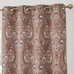 Paris Spice Paisley Curtains
