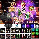 Wilktop Lampe de Projection de Noël, 12 Diapositives+10 Couleurs...