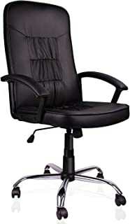 ORVEAY Office Ergonomic Office Chair Executive Bonded Leather Computer Chair, Black