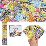 YNK 324Pcs Pokemon Cartes, Pokemon 36Pcs GX Cards, Hidden fate Series und Cosmic...