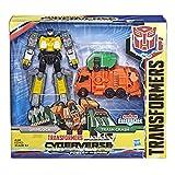 Transformers Cyberverse - Robot action Grimlock 10cm - Jouet transformable...