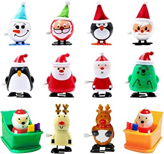 heytech Wind-up Toys 12 Pieces Assorted Toys for Kids Party Favors Gift for Christmas..