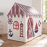 Tente de jeu pour enfants style marin Sailor