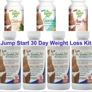 Jump Start Weight Loss 30 Day Kit | 4 bottles of The Swedish Diet Liquid Meal Replacement and 1 each of the Colon Cleanser, Fiber Plus and Garcinia Cambogia for Quick and Effective Results 2 - My Weight Loss Today