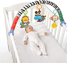 VX-star Baby Travel Play Arch Stroller/Crib Accessory,Cloth Animmal Toy and Pram Activity..