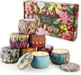 Scented Candles Gift Sets for Women Valentine's Day Aromatherapy Candles for Home Meditation Large...