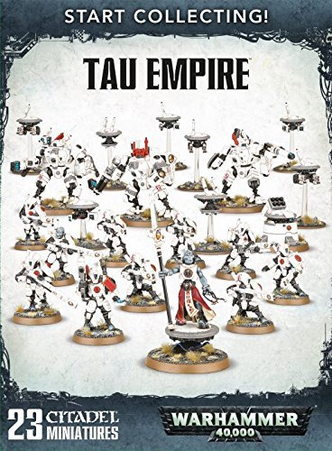 WORKSHOP DI GIOCHI 251.765022 in Warhammer 40.000 Tau Empire Inizia a collezionare gioco