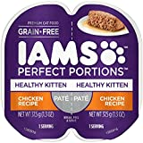 IAMS Healthy Kitten Grain Free Wet Cat Food, Chicken Pate, 2.6 oz. (24 Twin Packs)