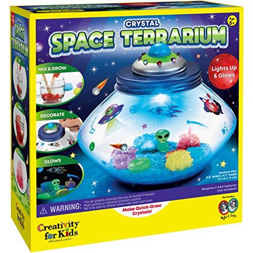 Creativity for Kids Crystal Space Terrarium Kit - Crystal...