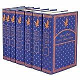 Harry Potter Ravenclaw House Trunk Set | Seven-Volume Hardcover Book Set with Custom Designed Juniper Books Dust Jackets | Author J.K. Rowling