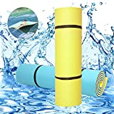 PEXMOR Water Mat, 18FT X 6FT Floating Pad for Pool, River, Beach, Ocean, Lake Water Recreation and Relaxing, Lake Toys for Adults and Kids 3 Layer Tear-Resistant XPE Foam Floating Pad
