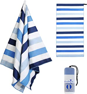 Exclusivo Mezcla Large Microfiber Beach Towel, Sand Free Sports/Swimming/Pool Towel for..
