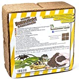 Humusziegel Brique d'humus - Litière de Terre de Coco 70 L - Terre de Terrarium...