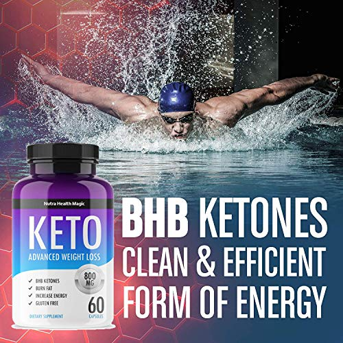QFL NUTRA Keto Diet Pills - exogenous Ketones-Utilize Fat for Energy with Ketosis - Boost Energy & Focus, Manage Cravings, Support Metabolism - Keto BHB Supplement for Women and Men - 90 Day Supply 6