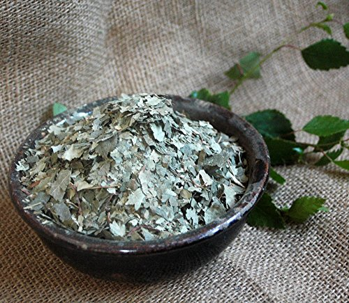 Naturix24 – Birkenblättertee, Birkenblätter geschnitten – 1 Kg Aromaschutzbeutel