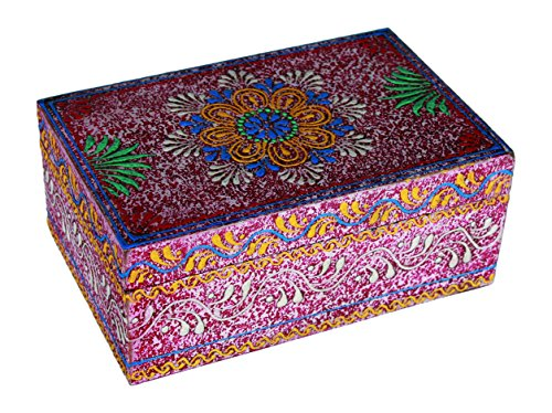 Out of the blue Caja Madera Oriental 17x11cm, Varios